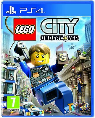 Lego City Undercover PS4 Playstation 4 Game Brand New In Stock From Brisbane