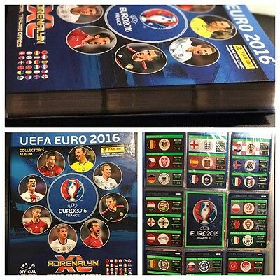 Panini Adrenalyn XL EURO 2016 complete 459 cards Album + 104 Limited Editions
