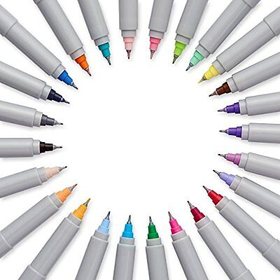 22 PACK Sharpie Ultra Fine Point Permanent Markers Set Assorted Colors Art Pen