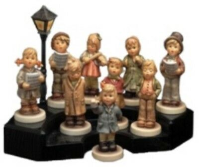 "M.i.hummel ""kinder Choir"" Complete Set 9 Figurines & Display New & Mint Reduced"