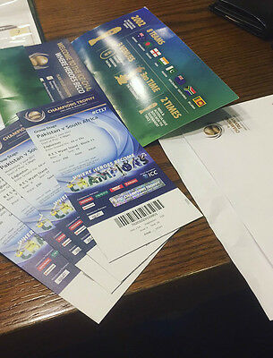 Champions Trophy 2017 Pakistan vs South Africa 4 Gold Tickets (Altogether & Adu