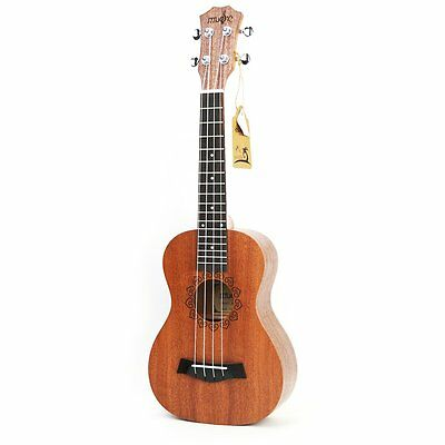 Ukulele Four String Guitar Mahogany Acoustic Concert Hawaii Beginners Ukelele AU