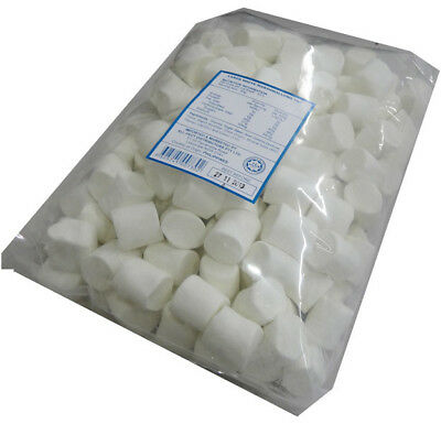 Large White Marshmallows (extruded) (1kg bag)