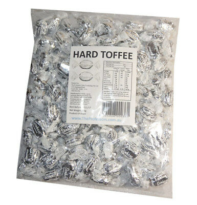 Sweet Treats Wrapped Hard Toffees - Silver - Coconut (1kg)