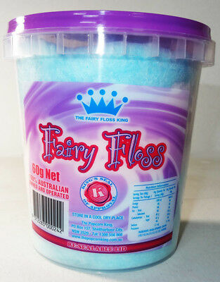 The Fairy Floss King - Multicoloured Fairy Floss (60g tub)