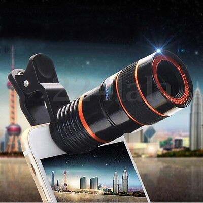 8X Transform Your Phone Into A Professional Quality Camera! HD360 Zoom Telescope
