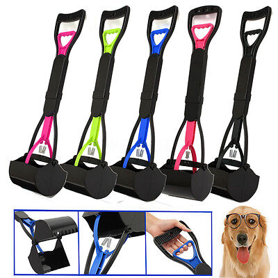 Pet Dog Waste Easy Pickup Pooper Scooper Walking Poo Poop Scoop Picker Grabber