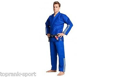 Special Offer - Adidas BJJ Gi Brazilian Jiu Jitsu Suit 'Quest'  Blue