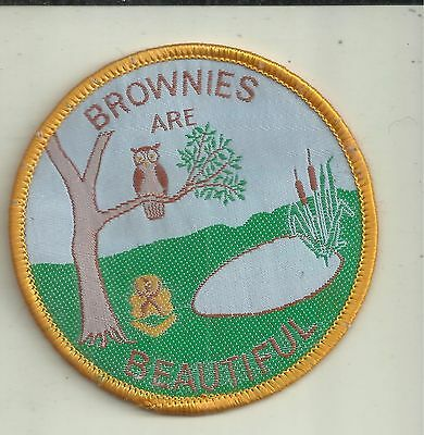 Brownies Are Beautiful  Patch Girl Guides