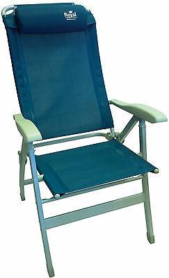 Royal Cannes Reclining Chair – Blue – 355540
