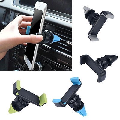 Universal 360° Rotating Car Air Vent Mount Cradle Holder for Mobile Phone GPS H