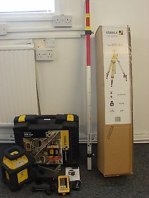Stabila LAR250 Set, Includes BST-K-L Tripod & NL Levelling rod