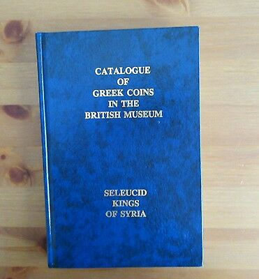 GREEK COIN BOOK COINS SELEUCID KING SYRIA durst numismatic publications