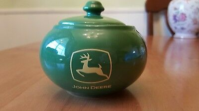 John Deere Jam/jelly / Sugar Jar