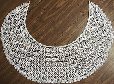 Lace White Collar Shoulder Vintage Wide Great Condition