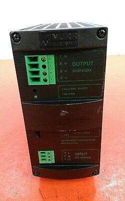 Murr Elektronik Mcs20-115/24 Single Phase  Power Supply Art.no. 85088.  4D