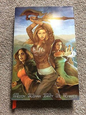 Buffy the Vampire Slayer Library Edition Season 8 Volume 1 graphic novel comic