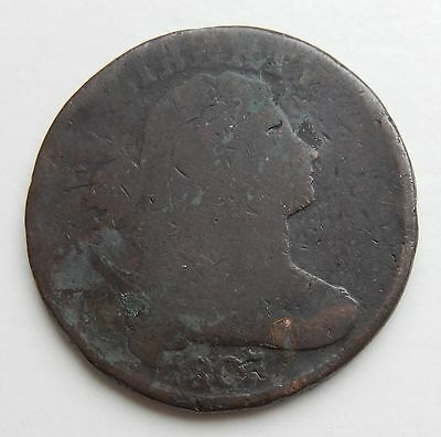 1807 Draped Bust Large Cent  ~  1¢ Cent Coin