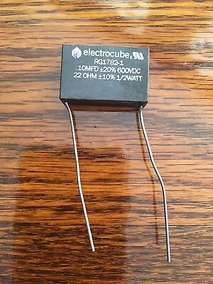 ELECTROCUBE 220OHMS .5W 33A CAPACITOR 5MFD600VDC