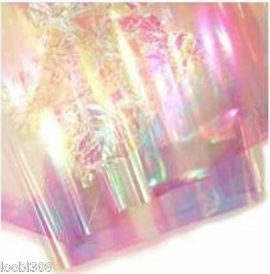 Heat Bondable Irridescent Glitter Film Fantasy Angelina Fusible