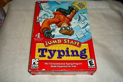 Vivendi JumpStart Typing for PC, Mac  NEW & SEALED Cool Game That Teach Typing