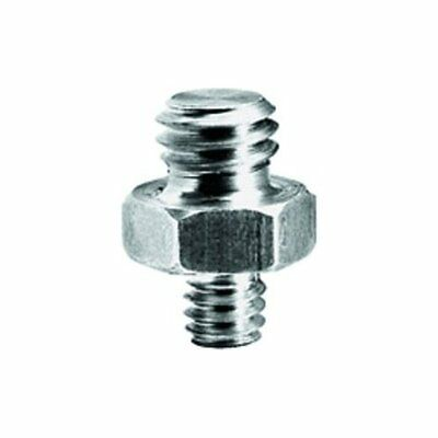 """Short Stud Adapter 1/4"""" Male and 3/8"""" Male 