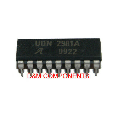 UDN2981A 8-Channel Source Drivers, 50V - 0.5A, Pack 1, 2 or 5