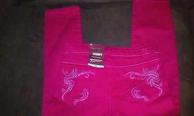 Size 4T Girls Arizona Skinny Jeans, BRAND NEW