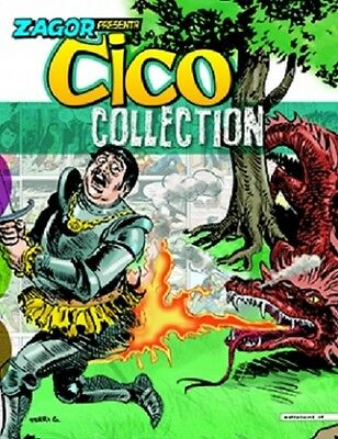Fumetto Zagor Presenta Cico Collection n 6 Archeologo Soldato Paladino