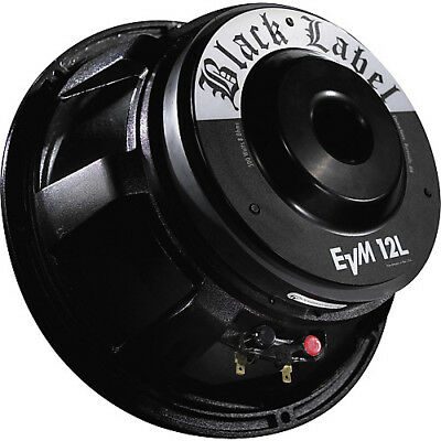 "NEW ElectroVoice EV EVM12L BLACK LABEL Zakk Wylde Guitar Speaker 12"", 8 Ohm"