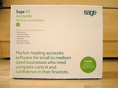 Sage 50 Accounts - Self study course - Stage 2