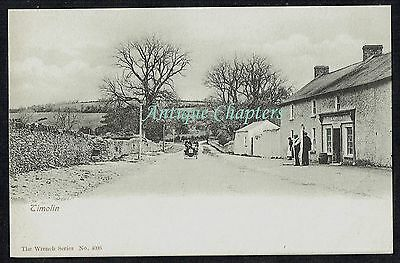 c1905 Vintage Car Timolin County Kildare Ireland Postcard B146