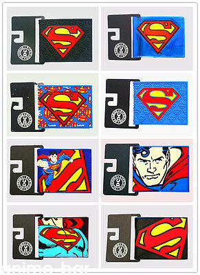 DC Comics Superman Bifold Short Wallets Men Student Purse New