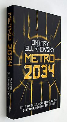 Metro 2034 Dmitry Glukhovsky Science Fiction Dystopian Moscow Russia English New