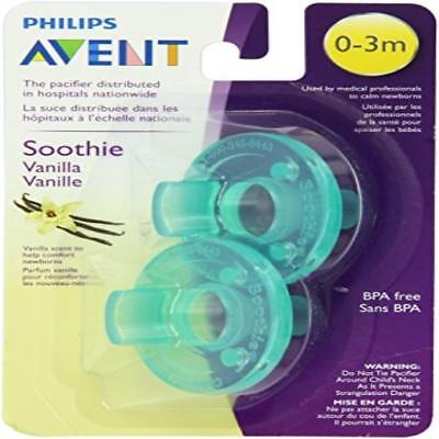 Philips Avent 2 Piece Bpa Free Soothie Pacifier, 0-3 Months, Vanilla Scented