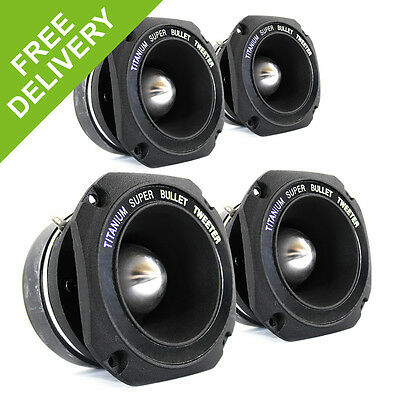 4x Skytec 44mm Voice Coil Speaker Driver 100W Essex