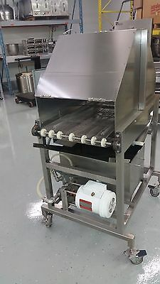 SEE VIDEO Automatic Egg Washer Sprayer Pan Greaser Oiler