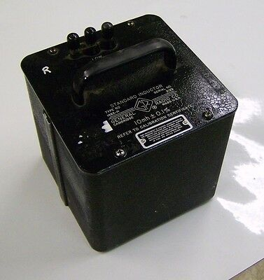 1482-H General Radio standard inductor 10 mh