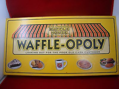 WAFFLE-OPOLY Waffle House 50th Anniversary - OPENED monopoly