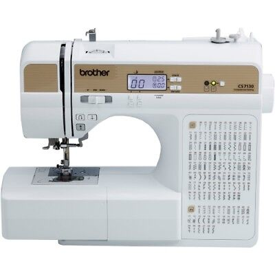 NEW Brother Sewing CS7130 Computerized Machine Electric 130 Built In Comp Sew