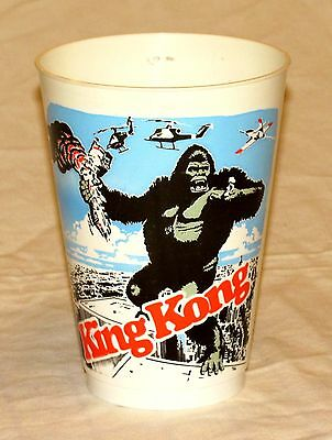 King Kong 1976 Movie Concession Cup Battle on Top of the World Trade Center