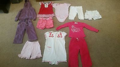 Baby girls clothes bundle. Age 6-12 months. 11 items!! By Next & others...