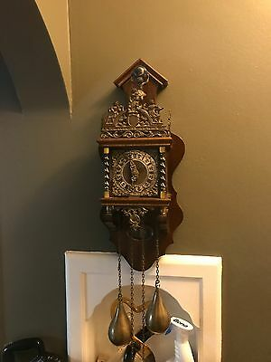 Antique Grandfather Wall Clock