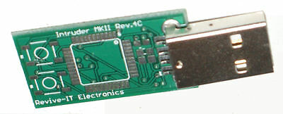 Intruder MKII (PCB ONLY) the UK's answer to the Rubber Ducky X1