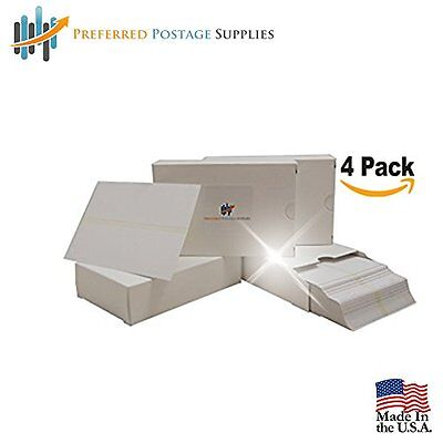Double Meter Tape,5 1/2 x 3 1/2 (Box of 300) (4-Pack) (USPS Approved) with perf