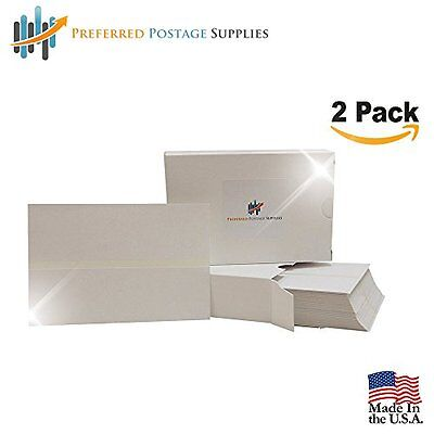 Double Postage Meter Tape, 5 1/2 x 3 1/2, Box of 300, Twin-Pack for Pitney Bows