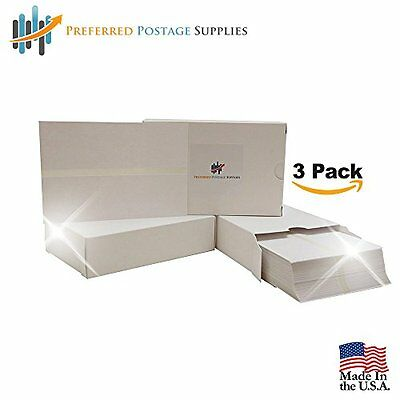 Double Postage Meter Tapes, 5 1/2 x 3 1/2, Box of 300,Three Pack, USPS Approved