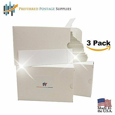 "Three Pack Money Saver, Postage Meter Tapes, 6""x1-11/16"" for Postalia Ultimail"