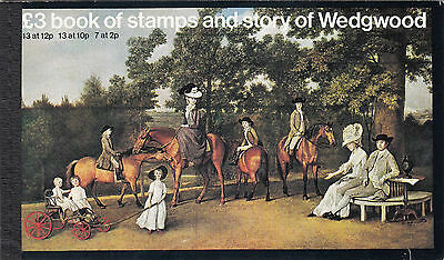 Great Britain £3 Book Of Stamps And Story Of Wedgwood 1980 Sg: Dx2  Complete Mnh