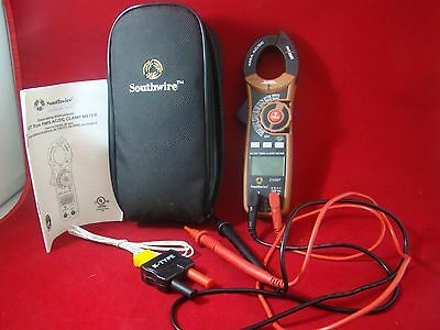 SOUTHWIRE 400 Amp AC/DC Clamp Meter 21050T WITH CASE - USED